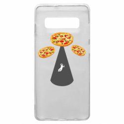 Чохол для Samsung S10+ Pizza UFO