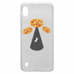 Чохол для Samsung A10 Pizza UFO