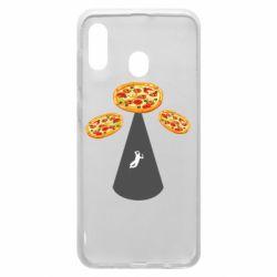 Чохол для Samsung A20 Pizza UFO