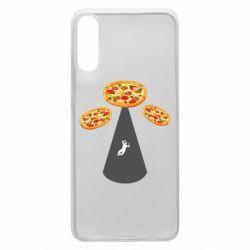 Чохол для Samsung A70 Pizza UFO