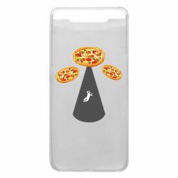 Чохол для Samsung A80 Pizza UFO