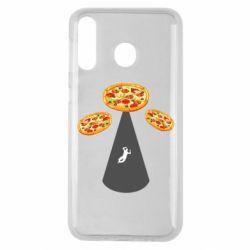 Чохол для Samsung M30 Pizza UFO