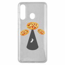 Чохол для Samsung M40 Pizza UFO