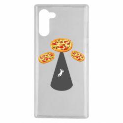 Чохол для Samsung Note 10 Pizza UFO