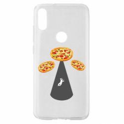 Чохол для Xiaomi Mi Play Pizza UFO