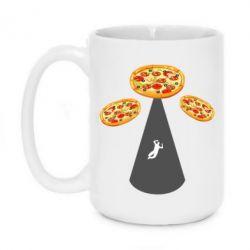 Кружка 420ml Pizza UFO