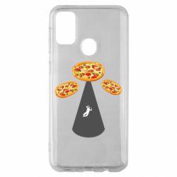 Чохол для Samsung M30s Pizza UFO