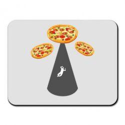 Килимок для миші Pizza UFO