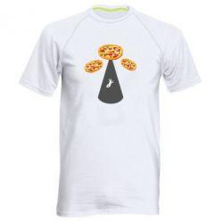 Чоловіча спортивна футболка Pizza UFO