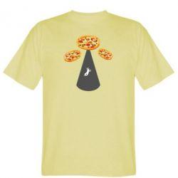 Чоловіча футболка Pizza UFO
