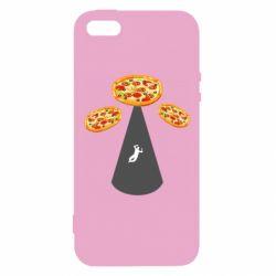 Чохол для iphone 5/5S/SE Pizza UFO