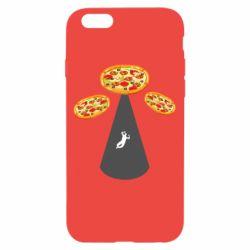 Чохол для iPhone 6/6S Pizza UFO