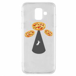 Чохол для Samsung A6 2018 Pizza UFO
