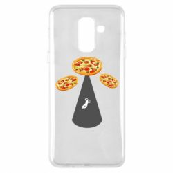 Чохол для Samsung A6+ 2018 Pizza UFO