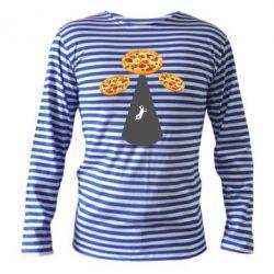 Тільник з довгим рукавом Pizza UFO