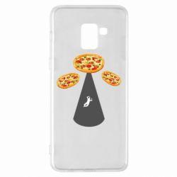 Чохол для Samsung A8+ 2018 Pizza UFO
