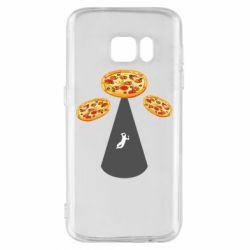 Чохол для Samsung S7 Pizza UFO