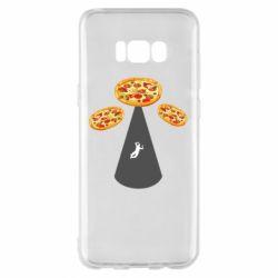 Чохол для Samsung S8+ Pizza UFO