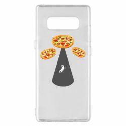 Чохол для Samsung Note 8 Pizza UFO