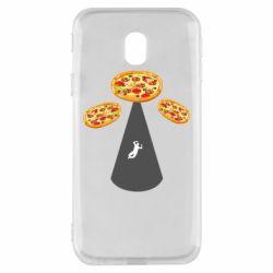 Чохол для Samsung J3 2017 Pizza UFO