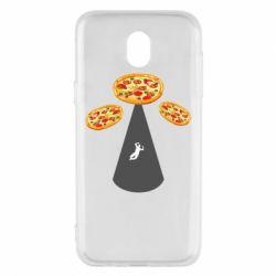 Чохол для Samsung J5 2017 Pizza UFO