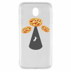Чохол для Samsung J7 2017 Pizza UFO