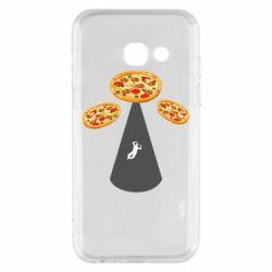 Чохол для Samsung A3 2017 Pizza UFO