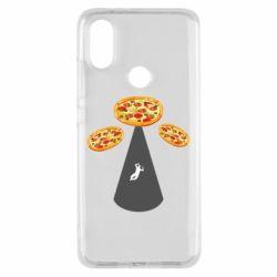 Чохол для Xiaomi Mi A2 Pizza UFO