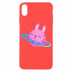 Чехол для iPhone X/Xs Planet Bunny