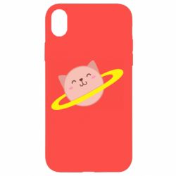 Чехол для iPhone XR Planet Cat