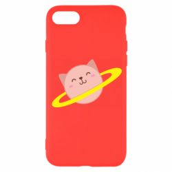 Чехол для iPhone 8 Planet Cat