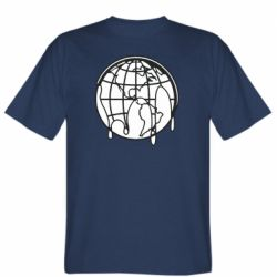 Мужская футболка Planet contour