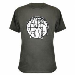 Камуфляжная футболка Planet contour