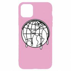 Чехол для iPhone 11 Pro Planet contour