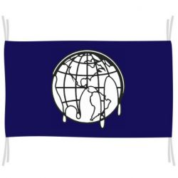 Флаг Planet contour