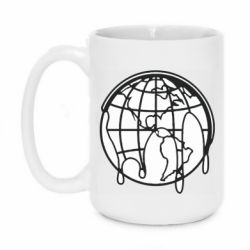 Кружка 420ml Planet contour