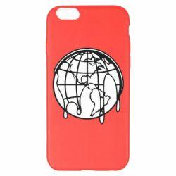Чехол для iPhone 6 Plus/6S Plus Planet contour