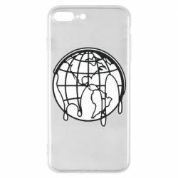 Чехол для iPhone 7 Plus Planet contour