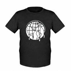 Детская футболка Planet contour