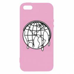 Чехол для iPhone5/5S/SE Planet contour