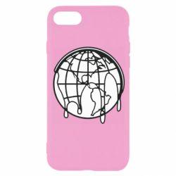 Чехол для iPhone 8 Planet contour