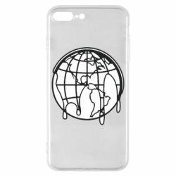 Чехол для iPhone 8 Plus Planet contour