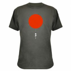 Камуфляжна футболка Planetarium