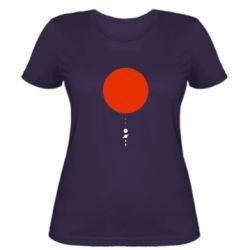 Жіноча футболка Planetarium
