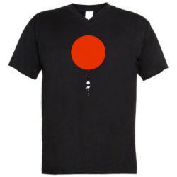 Чоловіча футболка з V-подібним вирізом Planetarium
