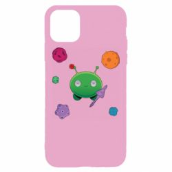Чехол для iPhone 11 Pro Max Planets and Alien