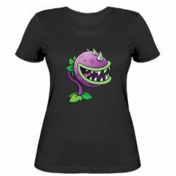 Женская футболка Planta carnivora