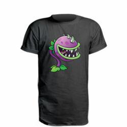 Удлиненная футболка Planta carnivora