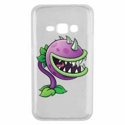 Чехол для Samsung J1 2016 Planta carnivora