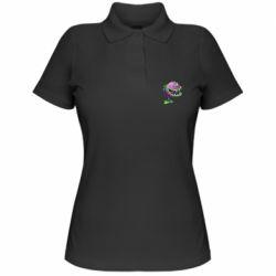 Женская футболка поло Planta carnivora